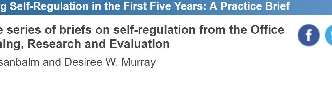 Promoting Self Regulation In First Five >> Phase Archives Prism